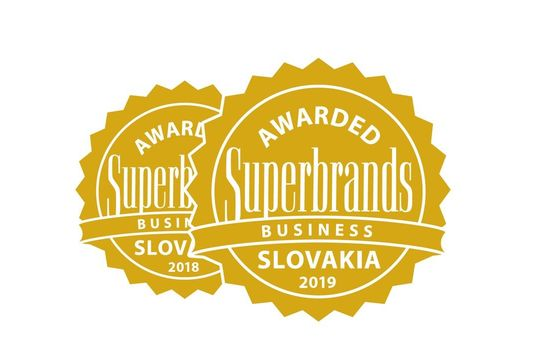Ocenenie Business Superbrands 2019.